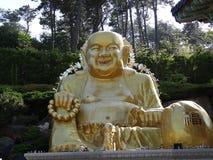 Busan Buddha Arkivfoton