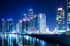 Busan city skyline Stock Photo