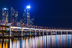 Busan city in South of Korea Royalty Free Stock Photo