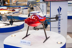 Busan Drone Show South Korea, first editorial news. The first Drone Show in South Korea and representing applications in emergency and agriculture Stock Photo