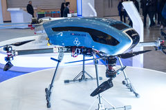 Busan Drone Show South Korea, first editorial news. The first Drone Show in South Korea and representing applications in emergency and agriculture Royalty Free Stock Photo