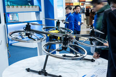 Busan Drone Show South Korea, first editorial news. The first Drone Show in South Korea and representing applications in emergency and agriculture Royalty Free Stock Images