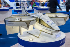 Busan Drone Show South Korea, first editorial news. The first Drone Show in South Korea and representing applications in emergency and agriculture Royalty Free Stock Image