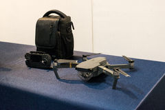 Busan Drone Show South Korea, first editorial news. The first Drone Show in South Korea and representing applications in emergency and agriculture Stock Image