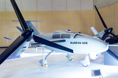 Busan Drone Show South Korea, first editorial news Stock Photo