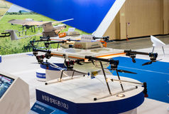 Busan Drone Show South Korea, first editorial news Royalty Free Stock Photography