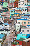Busan Gamcheon Culture Village. Colorful and lovely village in South Korea royalty free stock photos