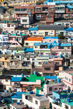 Busan Gamcheon Culture Village. Colorful and lovely village in South Korea royalty free stock image