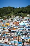 Busan Gamcheon kultury wioska 4 Fotografia Royalty Free