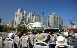 busan hamn södra industriella korea Fotografering för Bildbyråer