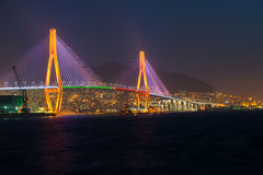 Busan Harbor Bridge Royalty Free Stock Image