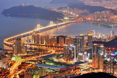 Busan, il Sud Corea fotografia stock libera da diritti