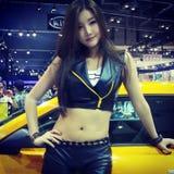 Busan-Internationale Automobilausstellung Stockbild