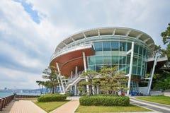 Busan, Korea - September 19, 2015: Nurimaru APEC house Royalty Free Stock Photography