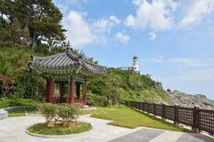 Busan, Korea - September 19, 2015: Pavilion at Nurimaru Royalty Free Stock Photography