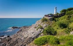 Busan lighthouse Stock Image