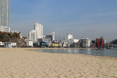 Busan ocean Obraz Stock