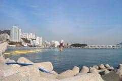 Busan ocean Zdjęcia Stock