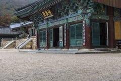 BUSAN - OCTOBER 27, 2016: Beomeosa Temple in Busan, South Korea. Stock Photography