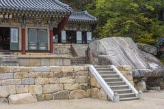 BUSAN - OCTOBER 27, 2016: Beomeosa Temple in Busan, South Korea. Stock Images