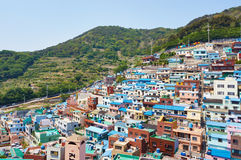 Busan old village. Gamcheon Culture Villiage in Busan Stock Photography