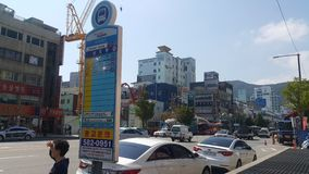 Busan Opposite Phoenix hotel Obraz Royalty Free