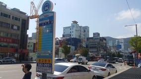 Busan Opposite of Phoenix Hotel Royalty Free Stock Image