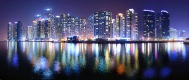 Busan, paysage urbain de la Corée du Sud photo libre de droits