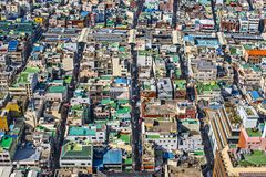 Busan rooftops Royalty Free Stock Image