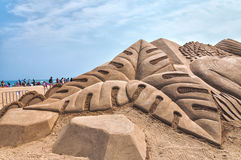 Busan Sand Festival Royalty Free Stock Images