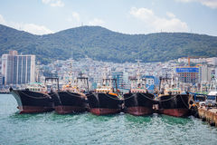 Busan Sea Port 2 Stock Images