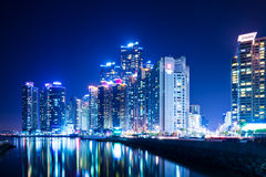 Busan skyline Royalty Free Stock Photos