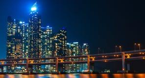 Busan Skyline Stock Photo