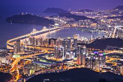 Busan, South Korea Stock Image