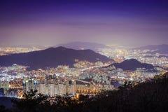 Busan, South Korea Cityscape Stock Photography