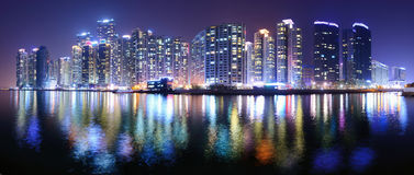Busan, South Korea Cityscape Royalty Free Stock Photo