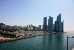 Busan South Korea industrial harbor Royalty Free Stock Photo