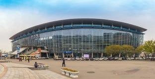 Busan station Korea Royalty Free Stock Images