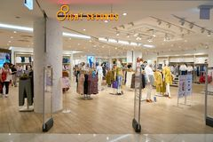 8ight seconds store. BUSAN, SOUTH KOREA - MAY 28, 2017: 8ight seconds store at Lotte Department Store royalty free stock image