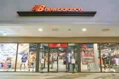 New Balance. BUSAN, SOUTH KOREA - MAY 25, 2017: New Balance store at Lotte Mall in Busan Stock Photos