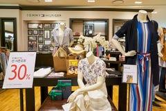 Tommy Hilfiger store. BUSAN, SOUTH KOREA - MAY 28, 2017: Tommy Hilfiger store at Lotte Department Store Royalty Free Stock Image