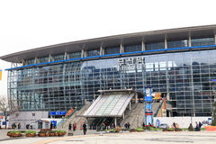 Busan station stock photo
