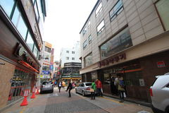 Busan street view Stock Photo