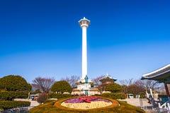 Busan Sydkorea torn Arkivfoto