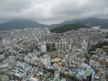 Busan from the top Royalty Free Stock Photography