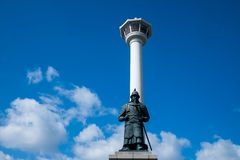 Busan-Turm Stockfoto