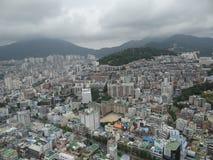 Busan vanaf de bovenkant Royalty-vrije Stock Fotografie
