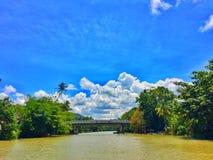 Busay flod fotografering för bildbyråer