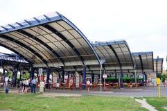 Busbahnhof stockfotos