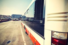 Busbahnhof Lizenzfreie Stockfotografie